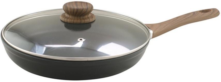 Cковорода с крышкой 28 см Vincent VC-4463-28