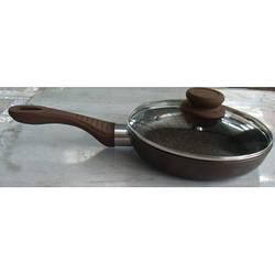 Алюминиевая сковорода Chocolate Line с антипригарным мраморным покрытием D=28 см Lessner 88364-28