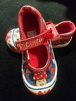 Балетки, мокасины Disney для девочки,Англия, фото 1