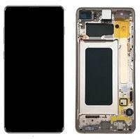 Дисплей Samsung Galaxy S10 Plus G975 Original 100% (Service Pack) with frame Ceramic White