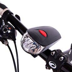 Фонарь велосипедный, основной+мигалка, KK-730