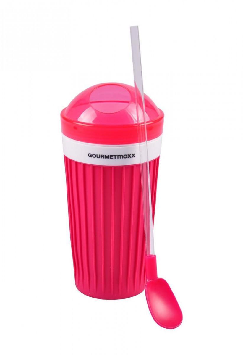 GOURMETmaxx Кружка для смузи и коктейлей Slush Red 300 мл (170133) #S/O