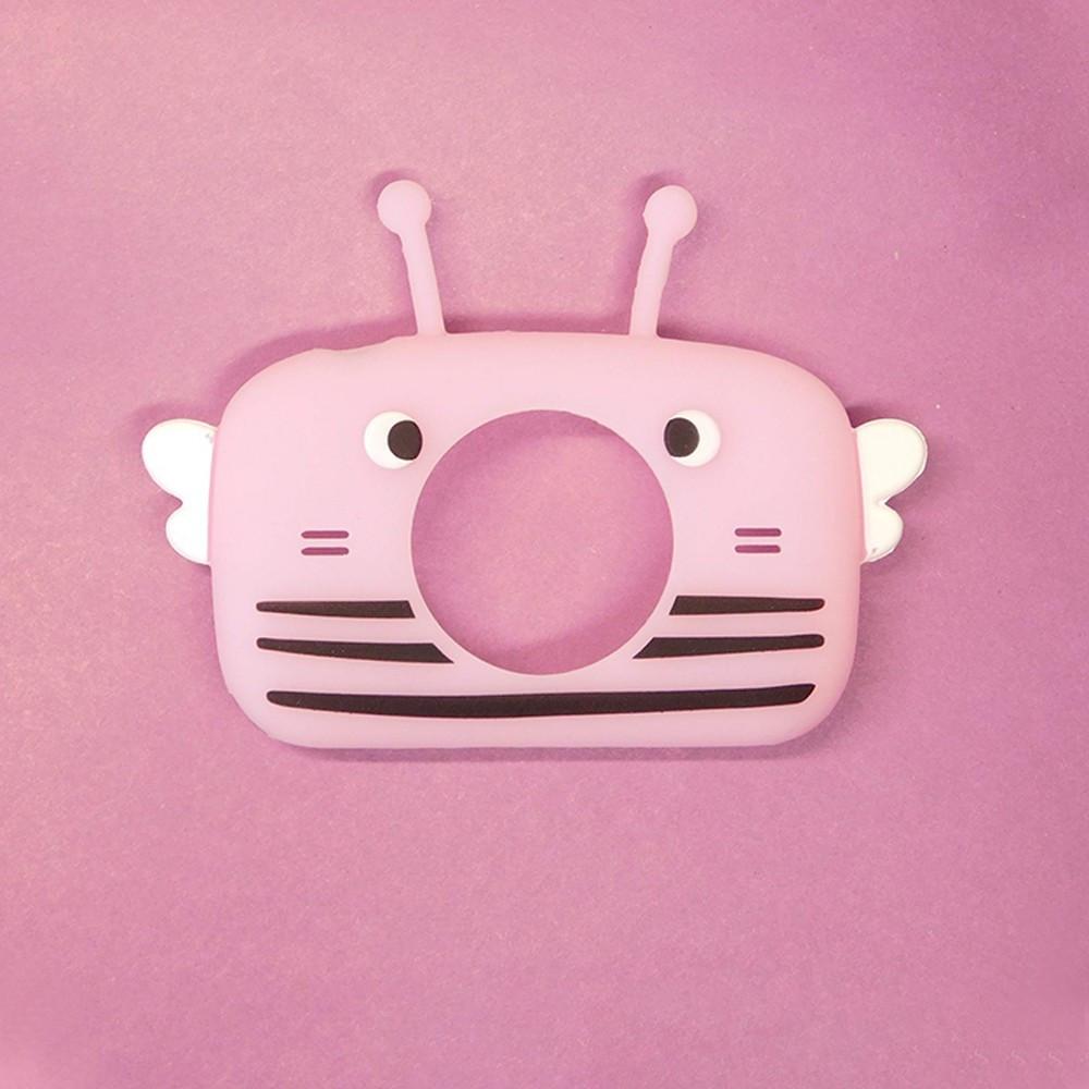 Чехол для детского цифрового фотоаппарата Children`s fun Розовая Пчелка Светлая (РПС) (С003-PBL)