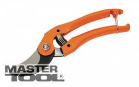 MasterTool  Секатор садовый 225 мм с металлическими ручками, лезвия Mn65, Арт.: 14-6109
