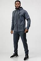 Мужской спортивный костюм Go Fitness grey