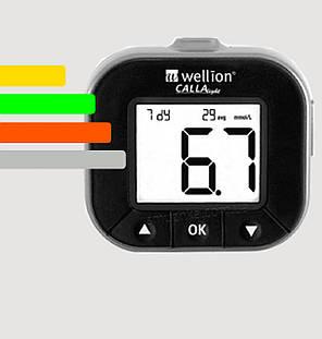 Глюкометр Wellion CALLA - Веллион Калла, фото 2