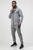Мужской спортивный костюм Go Fitness серый