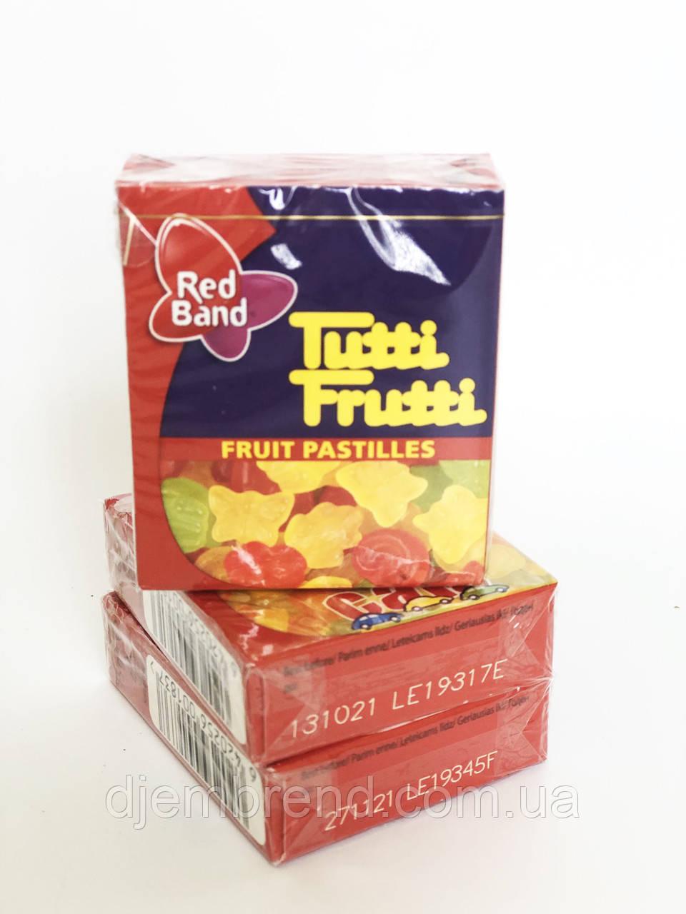 Жувальні цукерки метелики Tutti Frutti Red Band, 15 гр