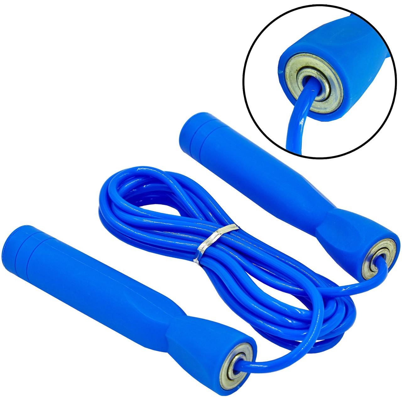 Скакалка скоростная с подшипником и PVC жгутом FI-5102-1 (l-2,6м, d-5мм)