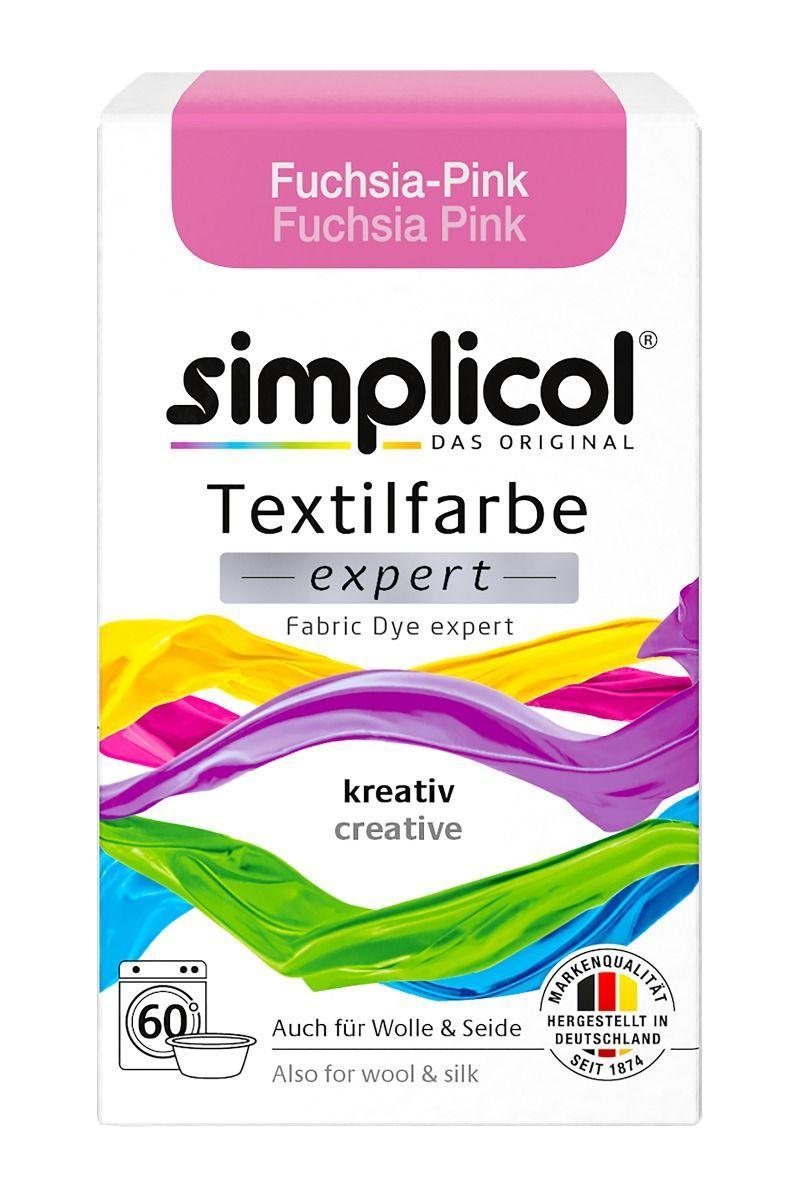 Краска Simplicol для смены цвета 150г Fuchsia-Pink розовая фуксия