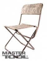MasterTool  Стульчик складной со спинкой 300*300*600(350) мм, Арт.: 92-0752