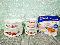 Набор лотков, лоточки, судочки, лоток, судок, контейнер для еды 5шт   Лотки пищевые