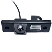 Штатная автомобильная камера заднего вида Lesko для марок Chevrolet Aveo, Cruze с разметкой