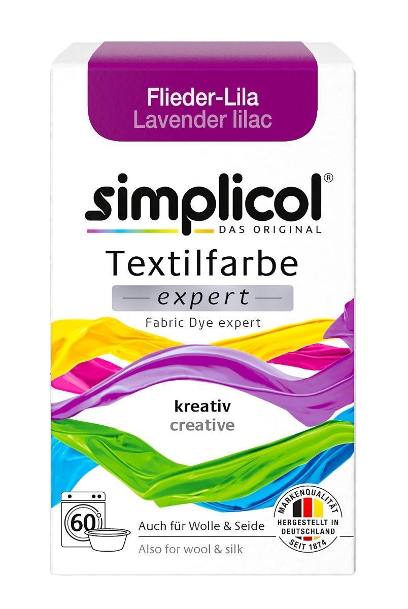 Краска Simplicol для смены цвета 150г Flieder-Lila лавандово-сиреневая
