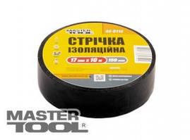 MasterTool  Лента изоляционная 0,15 мм,17 мм*20 м, 10 шт, черная, Арт.: 44-9120