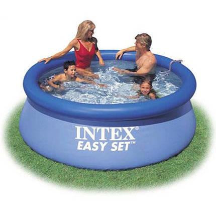 Бассейн семейный Intex 28120 305-76 см 3853 л надувной бассейн, фото 2