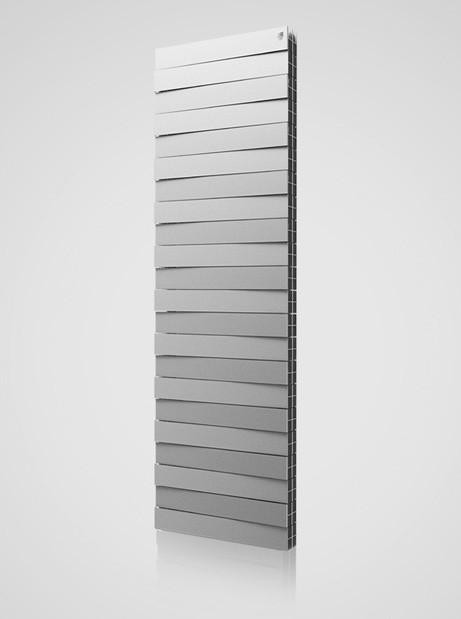 Piano Forte Tower 18 секцій SILVER SATIN - Радіатор біметалічний