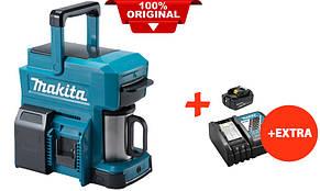 Аккумуляторная кофеварка Makita DCM501Z+акк.18V 5 Ah+быстрозарядное ЗУ (DCM501RT)