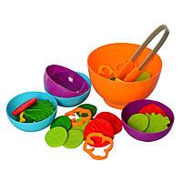 Продукты 2103F (Овощи) тарелка 3шт и кухонные принадлежности