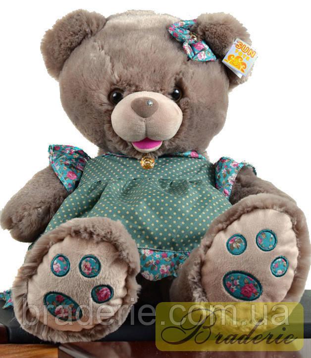 Медведь (шкура не набитая) 42 см 7215-42