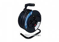 Подовжувач електричний на котушці BEMKO 15 м 1.5 мм² 4 гнізда