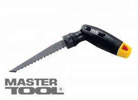 MasterTool  Ножовка-отвертка 4-В-1(ножовочное полотно 3 шт+магнитный держатель+насадки отверточные 7 шт), Арт.: 14-7401