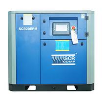 Компресор SCR 20 EРМ (15 кВт, 0.58 - 3.0 м3/хв) прямий привід, частотник, двигун на постійних магнітах