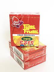Жевательные конфеты фруктовые машинки Frutti Cars Tutti Frutti Red Band , 15 гр