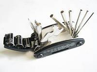 Складной набор инструментов велосипедиста 15в1