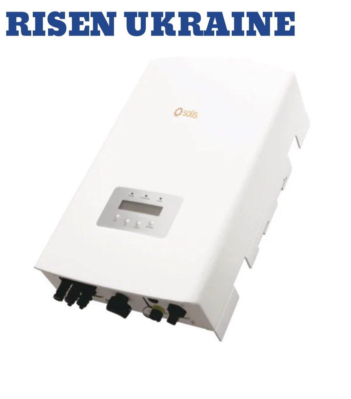 Сетевой инвертор Solis 10К (10 кВт, 3 фазы /2 трекера)
