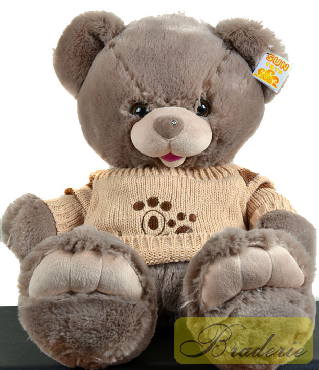 Медведь (шкура не набитая) 42 см 7214-42