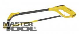 MasterTool  Ножовка по металлу 250-300 мм, 3 flex полотна, металическая рукоятка, эргономичная накладка, Арт.: 14-2227