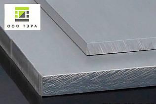 Дюралевая плита 25 мм 2024 Т351  алюминиевая аналог Д16Т