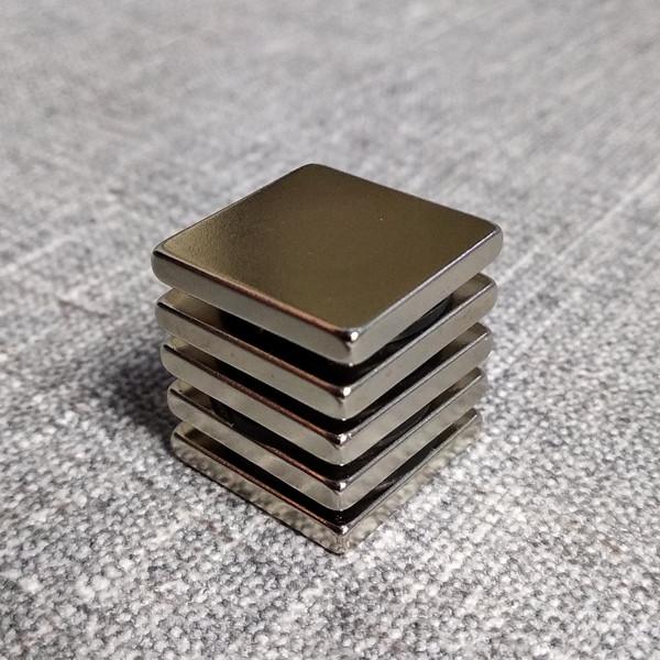 Магнит неодимовый квадрат 40х40х20 мм