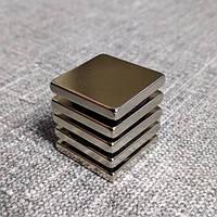 Магнит неодимовый квадрат 40х40х20 мм, фото 1