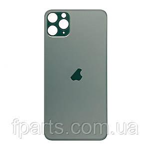 Задня кришка iPhone 11 Pro (великий виріз під камеру) Midnight Green, фото 2
