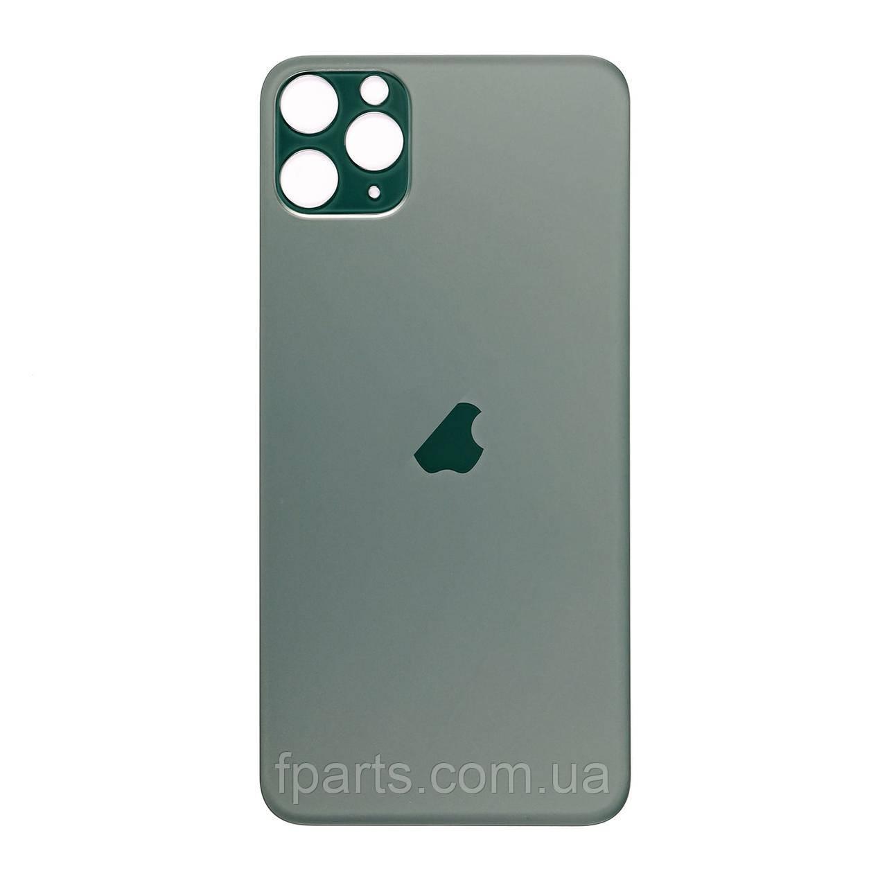 Задня кришка iPhone 11 Pro (великий виріз під камеру) Midnight Green