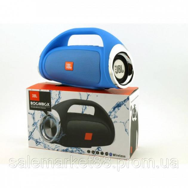 Портативная FM MP3 колонка JBL Boombox mini bluetooth microSD/TF и USB Черная