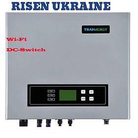 Сетевой инвертор трехфазный 10кВ TRB010KTL с WiFi моду -DC switch TRANNERGY