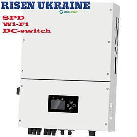 Сетевой инвертор трехфазный 15кВт TRN015KTL с WiFi модулем-DC switch-SPD TRANNERGY
