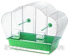Клітка для папуг канарок амадин BETA INTER ZOO хром, 56,5*28*45 див.