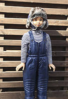 Зимний детский полукомбинезон Размер 110, 122 см