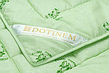 Одеяло 195х215 Летнее SAGANO (Сагано) бамбуковое волокно, микрофибра, евро, легкое, практичное, фото 3