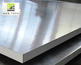 Плита алюминиевая 35 мм дюралевая сплав Д16 1500х4000 мм