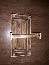 """""""Радуга"""" - корзинка для декора из дерева"""