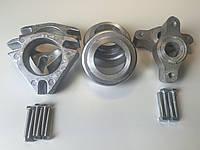 Проставки Форд Фокус 3 (Ford Focus 3) для увеличения клиренса высота 30мм перед и зад ком. материал алюминий