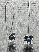 Срібні сережки Срібна Перлина