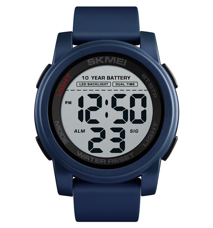 Skmei 1564 синие мужские спортивные часы