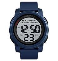Skmei 1564 синие мужские спортивные часы, фото 1