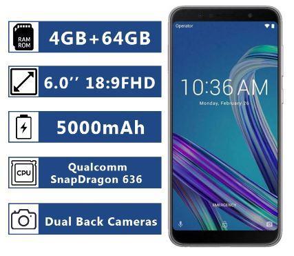 Мобильный телефон ASUS Zenfone MAX PRO M1 (ZB602KL) 4/64GB